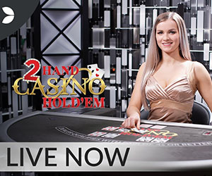 Live poker - Evolution gaming